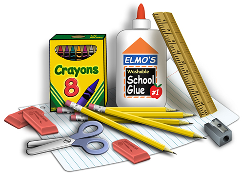Image result for school supplies creative commons